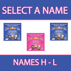 PERSONALISED EDUCATIONAL SONGS AND STORIES FOR KIDS CD *NAMES H - L* NEW