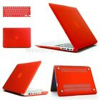 For MacBook Pro 13 Air 13 11 Pro 15 Red Retina Hard Rubberized Case Keyboard