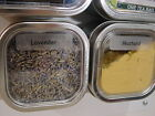 8 oz Bravada™ Square Spice Tins 12 with Optional Magnetic Spice Rack Accessories