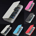 Slim Magnetic Folio Flip PU Leather Hard Back Case Cover Skin For Apple iPhone