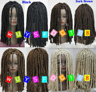 African Dreadlocks Wig Long Curls Rolls TV Drama Hair Cosplay Costume Party wigs