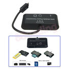 3 in 1 OTG On The Go Host Cable + Micro SD TF Card Reader Adapter for Motorola