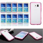Hybrid Hard PC + Soft TPU Silicone Bumper Frame Case Cover For Samsung Galaxy S6