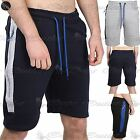 Mens Side Panel Zip Pocket Light weight Baggy Fit Cargo Summer Trouser Shorts