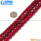 """Round Faceted Gemstone Plum Agate Loose Beads Strand 15""""Free Shipping"""