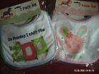 Pack Of White 7 Days Of The Week Baby Bibs.