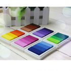 Let's Color Multi Gradient Ink Pads For Craft Rubber Stamp 6 Colors
