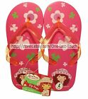 *STRAWBERRY SHORTCAKE For Girls FLIP FLOP Thong Sandals/Shoes *YOU CHOOSE* 2/2