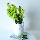 2XArtificial Phalaenopsis 5Branches Fake Flower Plants Bouquet Home Wedding Hot