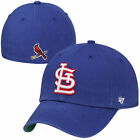 Mens St. Louis Cardinals '47 Brand Royal Blue Franchise Fitted Hat