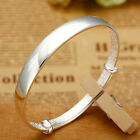 925 Sterling Silver Wristband Women Fashion Cuff Bangle Chain Bracelet Jewelry <br/> 12000+ Sold ! Top Quality! Fast Free P&amp;P