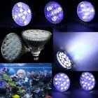21W 27W 36W 45W 54W E27 LED Fish Tank Coral Reefs Grow Aquarium Light Bulb Lamp