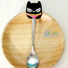 Cartoon Cat Spoon Handle Stainless Steel Spoon Student Children Eating Utensil