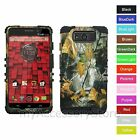 For Motorola Droid Maxx / Ultra Camo Camouflage Hybrid Rugged Impact Armor Case