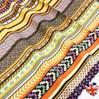 Retro Groovy Stripes Fabric 100% Cotton - MULTI Ideal For Crafts, Patchwork, etc