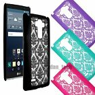 Damask Lace Vintage Hard Slim Back Case Skin Phone Cover for LG Phones
