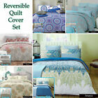 Reversible Quilt Cover Set by Apartmento SINGLE DOUBLE QUEEN KING