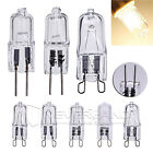 10x G4 G9 18W 25W 40W 50W Clear Frosted Halogen Capsule Light Bulb Lamp 230V/12V