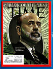 Time Magazine December 28, 2009 January 4, 2010 Person Of The Year Ben Bernanke