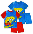Boys Nickelodeon Spongebob Squarepants Pyjama Set New Kids PJs Ages 3-8 Years