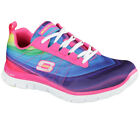 NEU SKECHERS Damen Sneakers Turnschuh Memory Foam FLEX APPEAL PRETTY PLEASE Pink