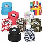 Hot Baseball Dogs Hat Summer Canvas Cap For Small Pet Dog Outdoor Accessories