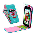 Magnetic Patterned Flip Leather ID Card Wallet Cover Case For Smart Cellphone