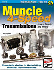 Muncie 4-Speed Transmissions: How to Rebuild and Modify Book~great reference~NEW!