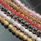 12mm Women Round Ball Foil Lampwork Glass Loose Charm Beads Jewelry Findings DIY