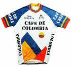 CAFE DE COLOMBIA RETRO CYCLING TEAM BIKE JERSEY