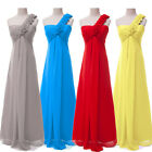 PLUS SIZE 18 20 22 24 Evening Prom CHIFFON Mother of Bride Long Gown Party Dress