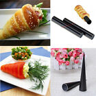 2pcs Cake Set Non Stick Pastry Dessert Cannoli Round Form Tubes Cores Tools #F