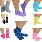 New Women Ankle Yoga Socks Sport Fitness Pilates Socks Five Toe No-Slip Massage