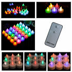 Pro Flameless LED Wedding Party Tealight Candle Color RGB & Remote Control Gifts