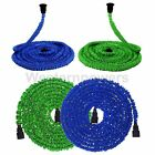 Green & Blue Latex 25 50 75 100 FT Expanding Flexible Garden Water Hose