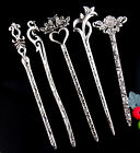 5pcs Fashion Women Zinc Alloy Mixed Style Hair Pin 155-160mm