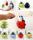 HOT  Toothbrush Sucker  Cup Pocket Wall Mount Stand Bathroom Organizer Holder