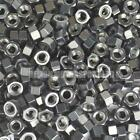 Black Anodised Alloy Hex Nut - Choice Of Size Metric M4 M5 M6