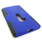 For AT&T Nokia Lumia 920 Colorful APEX Hybrid Gel Hard Net Case Cover Accessory