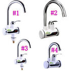 Kitchen LED Digital Display Fast Heating Electric Faucet Water Heater Taps Tap