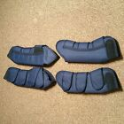 Olympian Travel Boots - Set of 4 Pony Size in Navy Blue