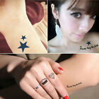 Exclusive Temporary Tattoo Sticker Body Art Temporary Tattoos  Sexy Fashion US18