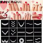 DIY15 Style Guide Sticker Ongle French Déco Vernis Gel UV Peinture Nail Art Tips