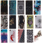 14 Design Paint TPU Silicone Rubber Protective Skin Case Cover For SONY HTC Moto