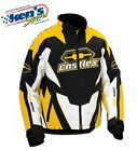 CASTLE X™ Men's Yellow Insulated LAUNCH G1 Winter Snowmobile Jacket 70-443_
