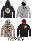 Boys Angry Birds Star Wars Hoodie Kids Hooded Top Grey Black New Age 4-12 Years