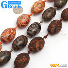 Natural Assorted Shapes Vintage Dzi Tibet Agate Gemstone Beads Free Shipping