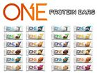 ONE PROTEIN BAR Guilt Free Healthy Snack, Box of 12 Bars - PICK FLAVOR