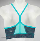 NEW LULULEMON Flow Y IV Bra Sz 6 Wee Are From Space Blue Tropics inserts NWT