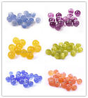 Charms Cat's Eye Crystal Glass Round Ball Loose Spacer Beads 4mm 6mm 8mm 10mm